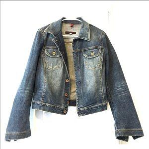 AG soft denim jacket.